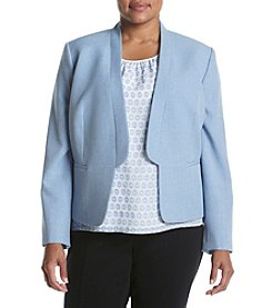 Nine West® Plus Size Solid Breeze Jacket