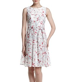 Tommy Hilfiger® Magnolia Cluster Swing Dress