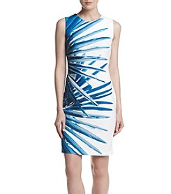 Tommy Hilfiger® Pacific Multi Scuba Crepe Dress