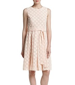 Tommy Hilfiger® Sleeveless Polka Dot Dress