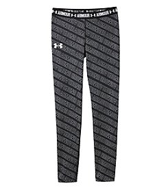 Under Armour Girls' 2T-16 Armour Word Print Leggngs