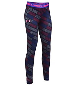 Under Armour® Girls' 7-16 Armour Word Print Leggngs