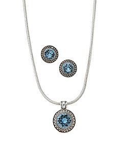 Napier® Swarovski® Crystal Jewelry Set