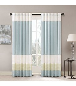 Madison Park Carter Polyester Pintuck Window Panel