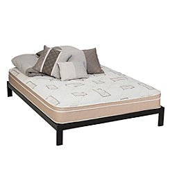 Wolf Corporation Lifetone Eurotop Twin Mattress and Platform Set