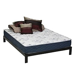 Wolf Corporation Reassurance Medium Firm Support Queen Mattress and Platform Set