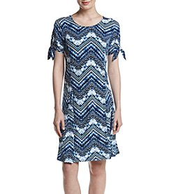 Studio Works® Tie Scoop Neck Dress