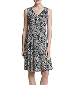 Studio Works® Geo Printed Dress