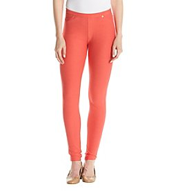 MICHAEL Michael Kors® Petites' Solid Pull On Leggings