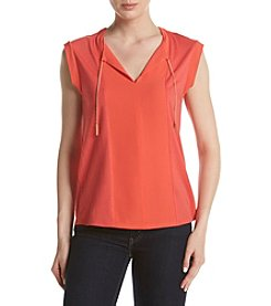 MICHAEL Michael Kors® Petites' Chain Tie Knit Top