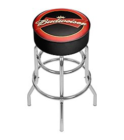 Budweiser® Bowtie Red/Black Bar Stool