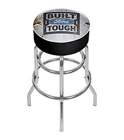 Ford® Padded Swivel Bar Stool - Built Ford Tough