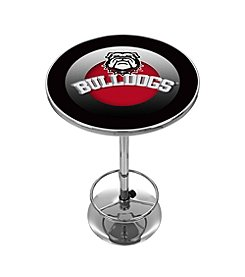 Trademark Gameroom NCAA® University of Georgia Chrome Pub Table
