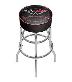 Corvette C5 Padded Bar Stool - Black