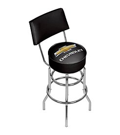 Chevrolet® Padded Bar Stool with Back