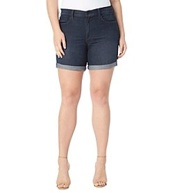 NYDJ® Plus Size Avery Shorts