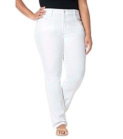 NYDJ® Plus Size Marilyn Relaxed Capri