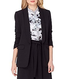Tahari ASL® Shawl Collar Jacket