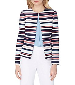 Tahari ASL® Novelty Stripe Jacket