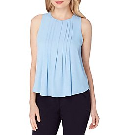 Tahari ASL® Pleated Top