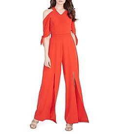 XOXO® Cold Shoulder Jumpsuit