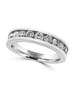 Effy® 14K White Gold 0.98 ct. t.w. Diamond Ring