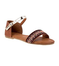 Nannette® Girls' Boho Slingback Sandals