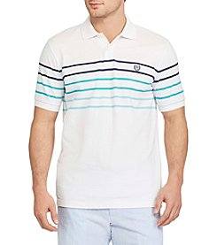 Chaps® Men's Short Sleeve Striped Polo Shirt
