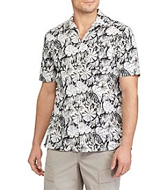 Chaps® Men's Short Sleeve Print Button Down Shirt