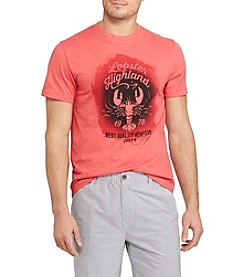 Chaps® Men's Short Sleeve Lobster Highland Graphic Tee