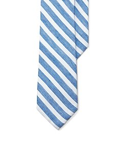Lauren Ralph Lauren® Men's Striped Linen-Silk Tie