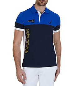 Nautica® Men's Logo Block Polo Shirt