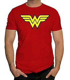 Changes Men's Wonder Woman Shield Graphic Tee