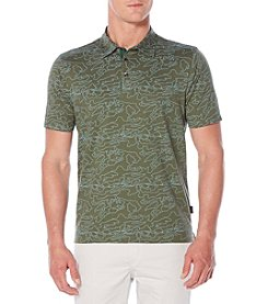 Perry Ellis® Men's Pima Print Polo Shirt