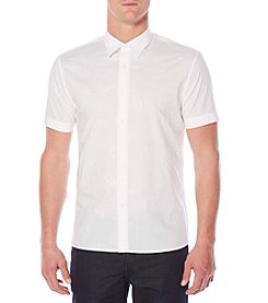 Perry Ellis® Men's Short Sleeve Button Down Shirt