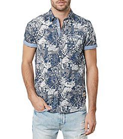 Buffalo by David Bitton Men's Short Sleeve Button Down Shirt