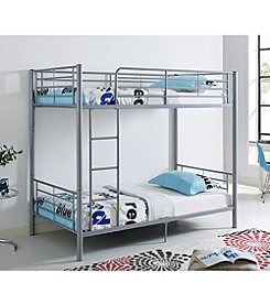 W. Design Premium Metal Twin-Over-Twin Bunk Bed