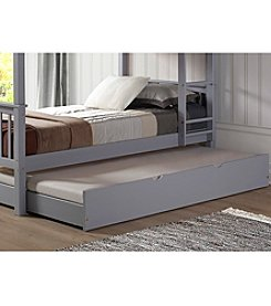 w designs solid wood twin trundle bed