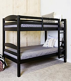 W. Designs Solid Wood Twin over Twin Bunk Bed