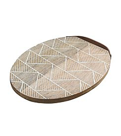 Thirstystone® Oval Chevron Board