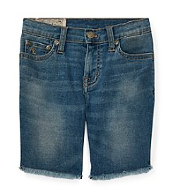 Polo Ralph Lauren® Boys' 2T-7 Boys Denim Cutoff Shorts