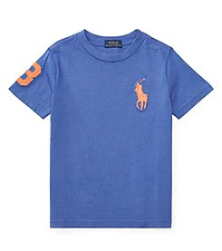 Polo Ralph Lauren® Boys' 2T-7 Short Sleeve Big Pony Jersey Tee