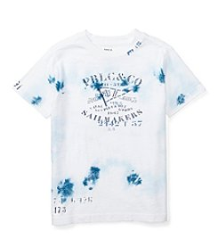 Polo Ralph Lauren® Boys' 2T-4T Short Sleeve Jersey Graphic Tee