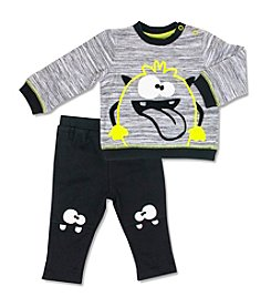 Cuddle Bear® Baby Boys' 2-Piece Monsters Pants Set