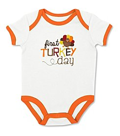 Cuddle Bear® Baby 1st Turkey Day Bodysuit