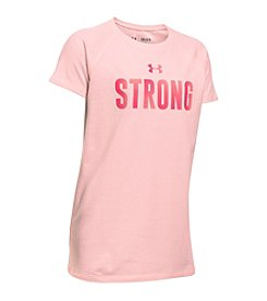 Under Armour® Girls' 7-16 Strong Graphic Tee