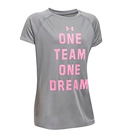 Under Armour® Girls' 7-16 One Team One Dream Tee