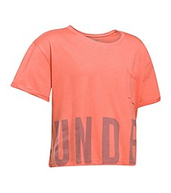 Under Armour® Girls' 7-16 Graphic Studio Tee