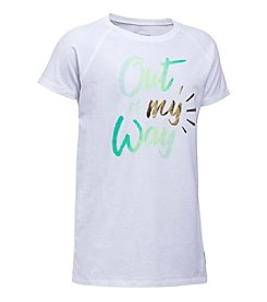 Under Armour® Girls' 7-16 Out Of My Way Tee