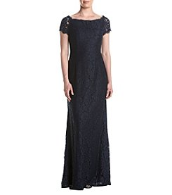 Adrianna Papell® Off Shoulder Lace Gown